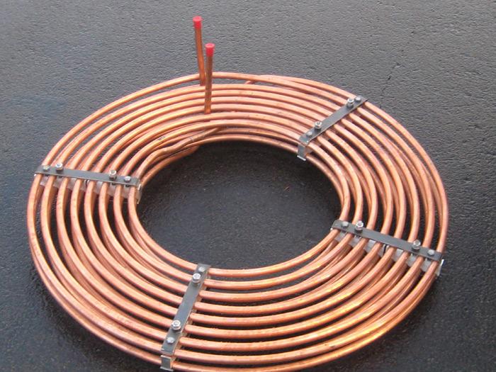 Heat Exchanger Coils Stacked Spiral Coils