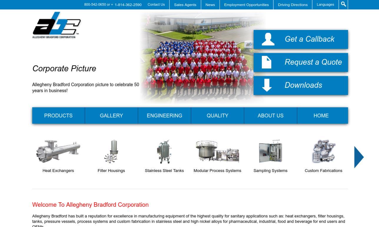 Allegheny Bradford Corporation