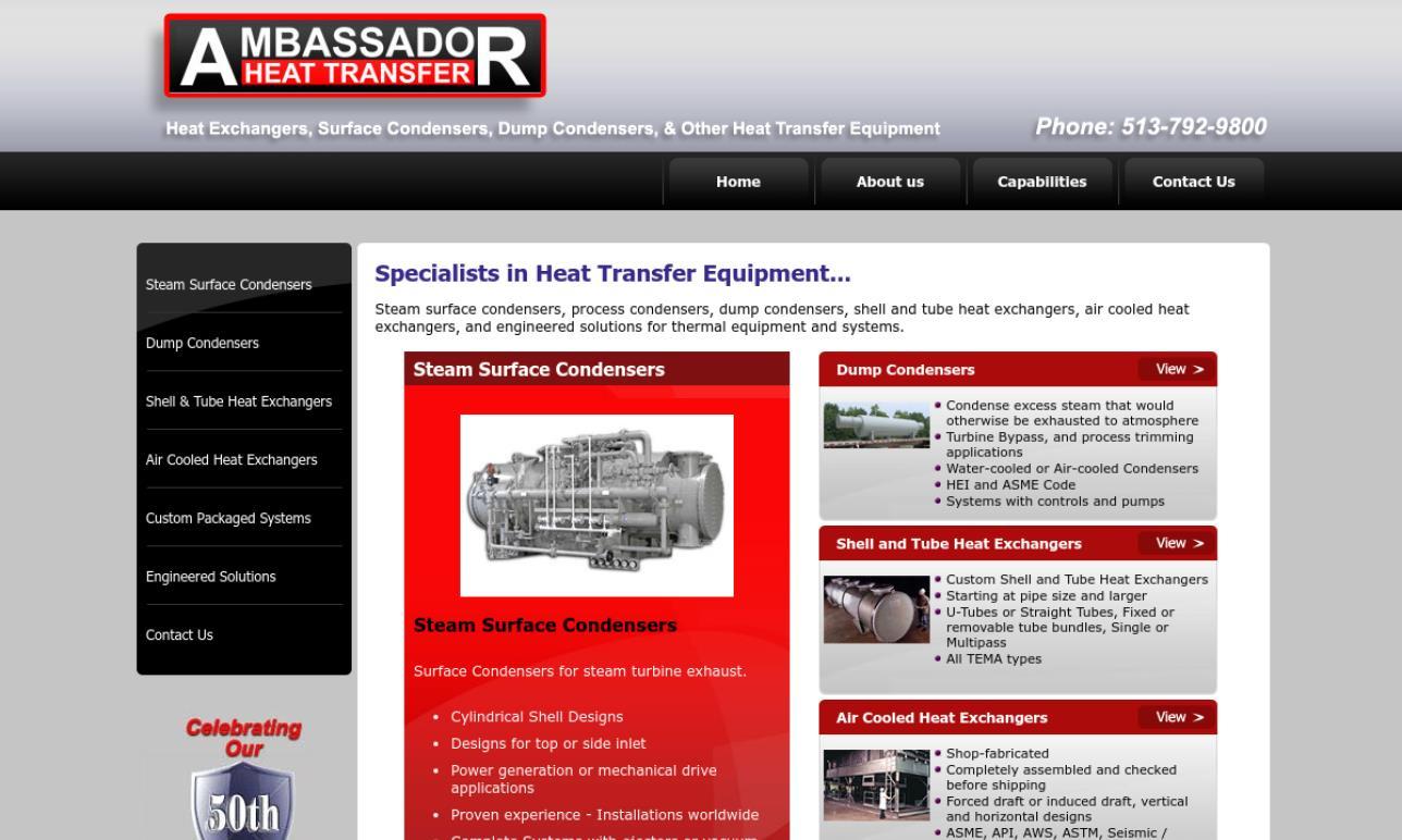 Ambassador Heat Transfer Company