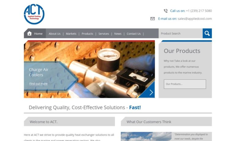 Applied Cooling Technology LLC