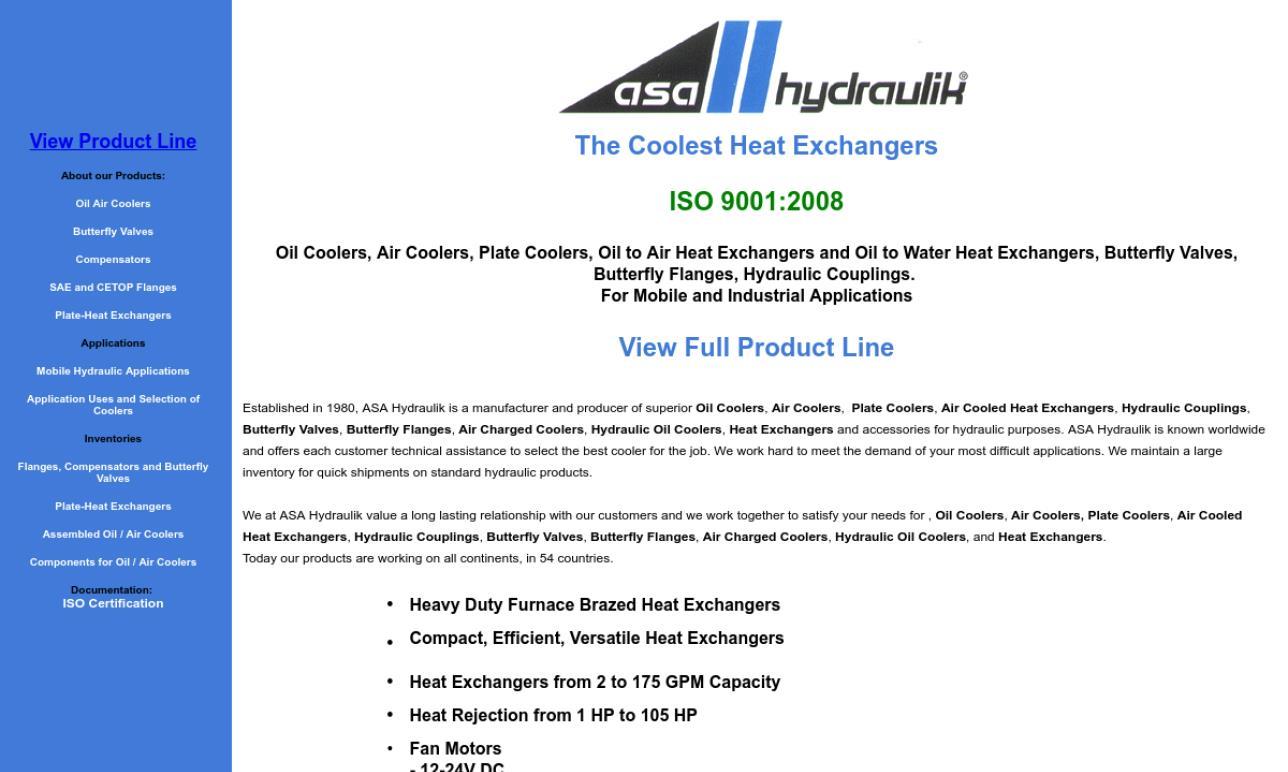 ASA Hydraulik® of America