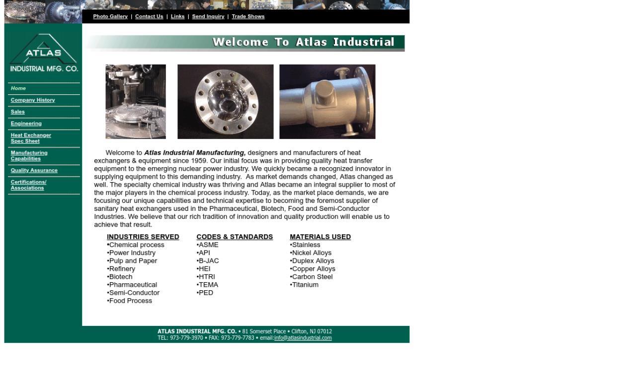 Atlas Industrial Mfg. Co.