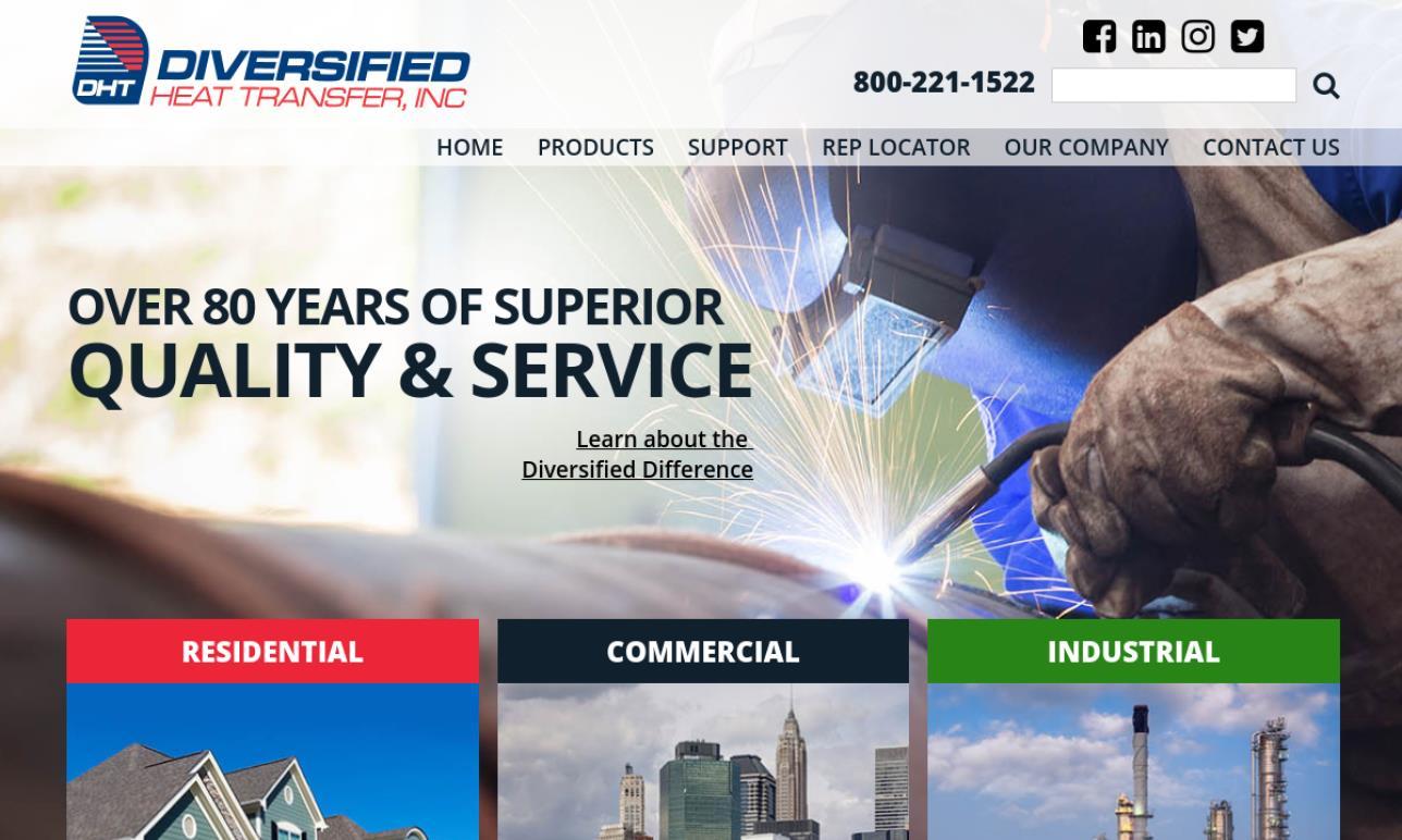 Diversified Heat Transfer, Inc.