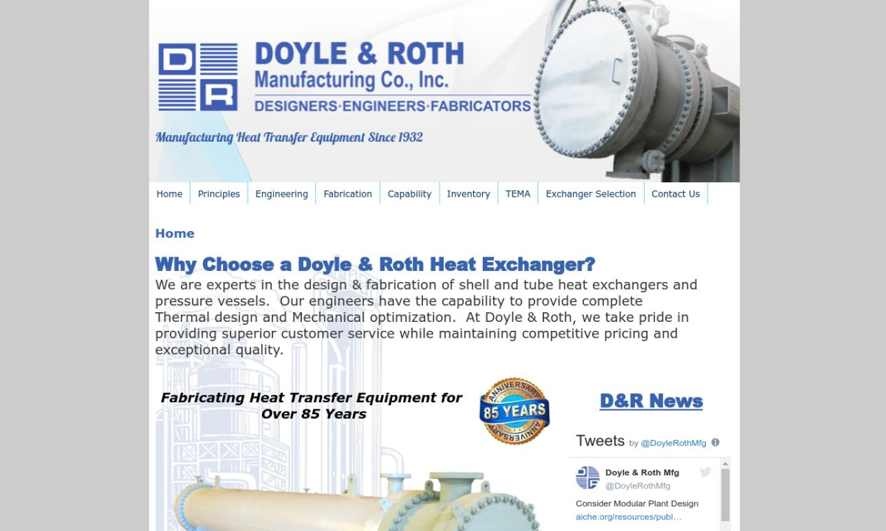 Doyle & Roth Manufacturing Co., Inc.
