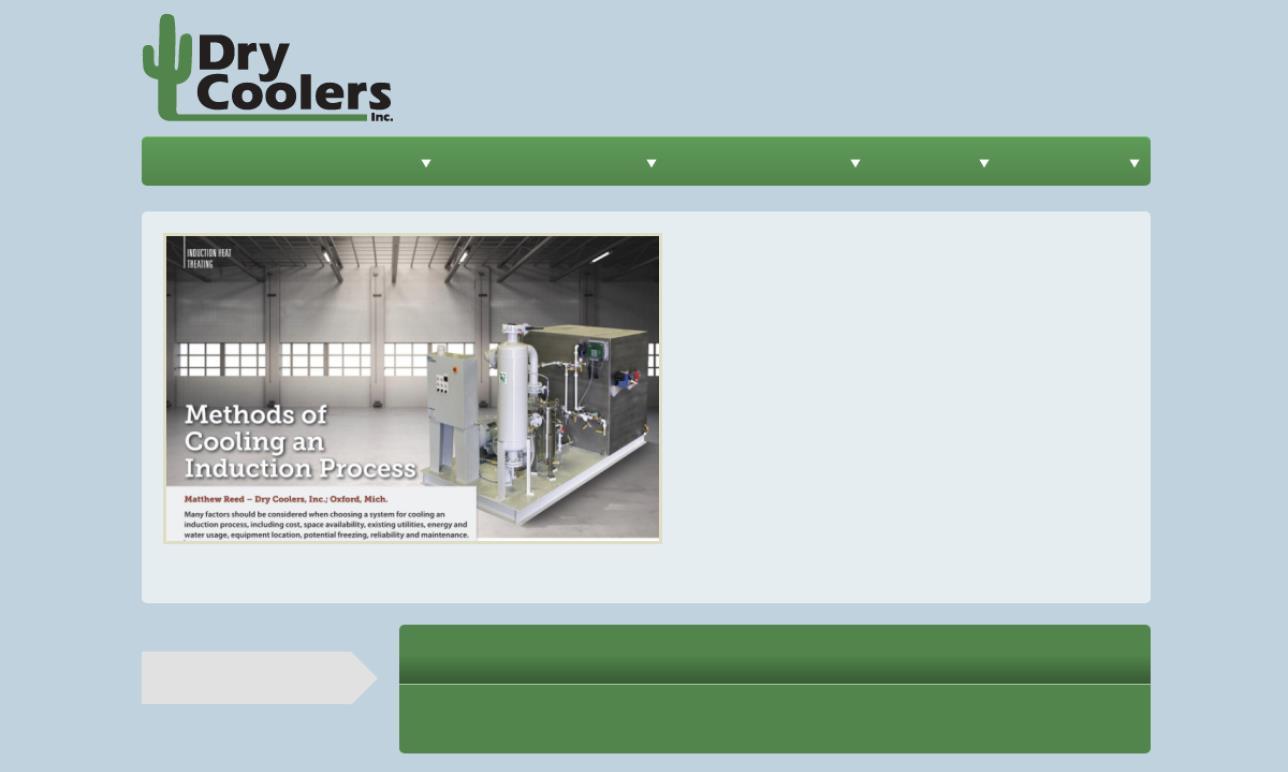 Dry Coolers, Inc.