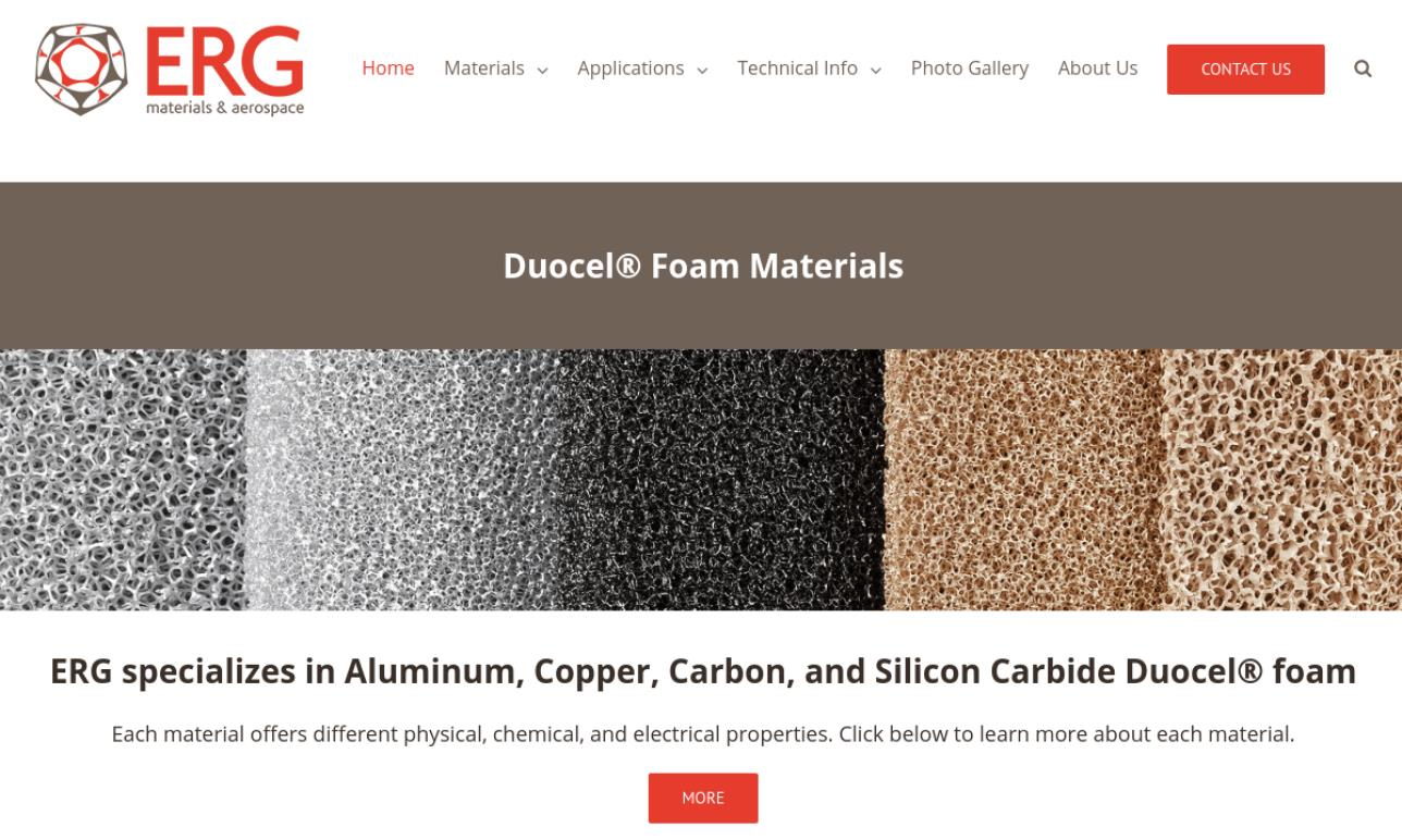 ERG Materials and Aerospace Corporation