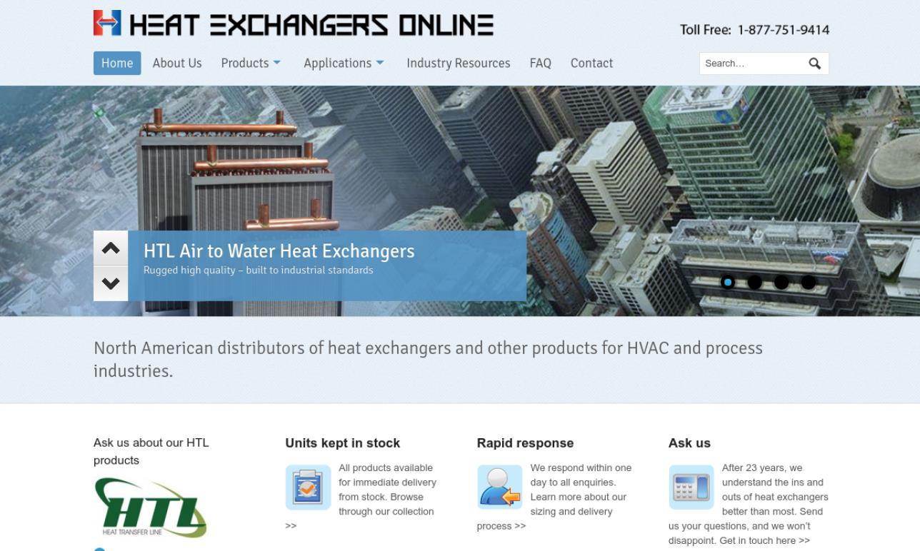 Heat Exchangers Online