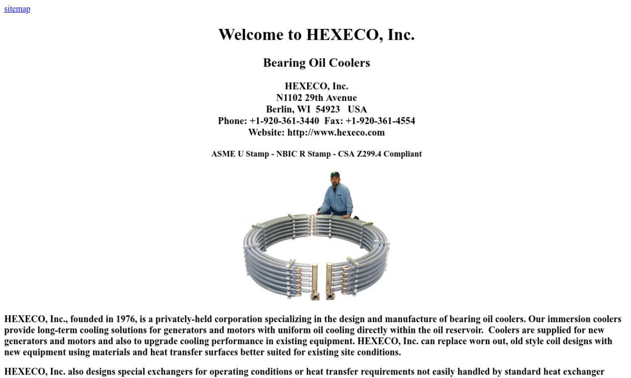 HEXECO, Inc.
