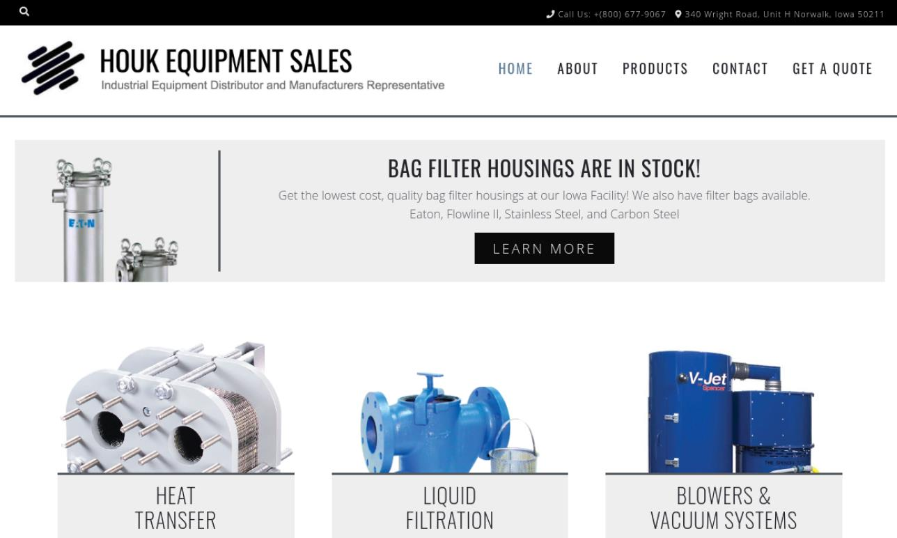 Houk Equipment Sales