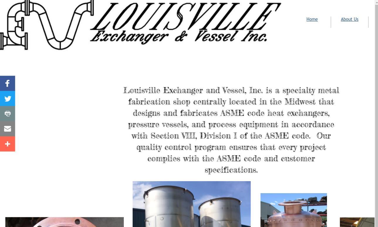 Louisville Exchanger & Vessel Inc.