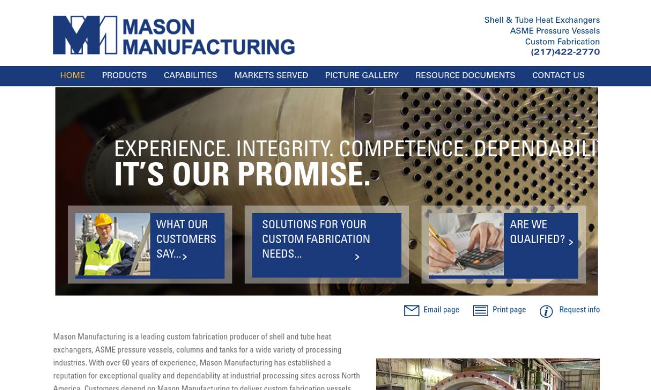 Mason Manufacturing LLC