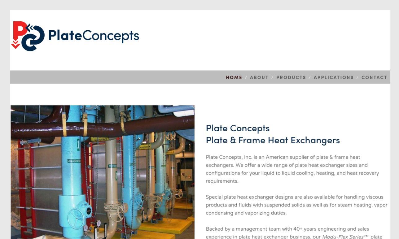 Plate Concepts, Inc.