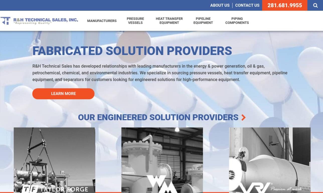 R & H Technical Sales, Inc.