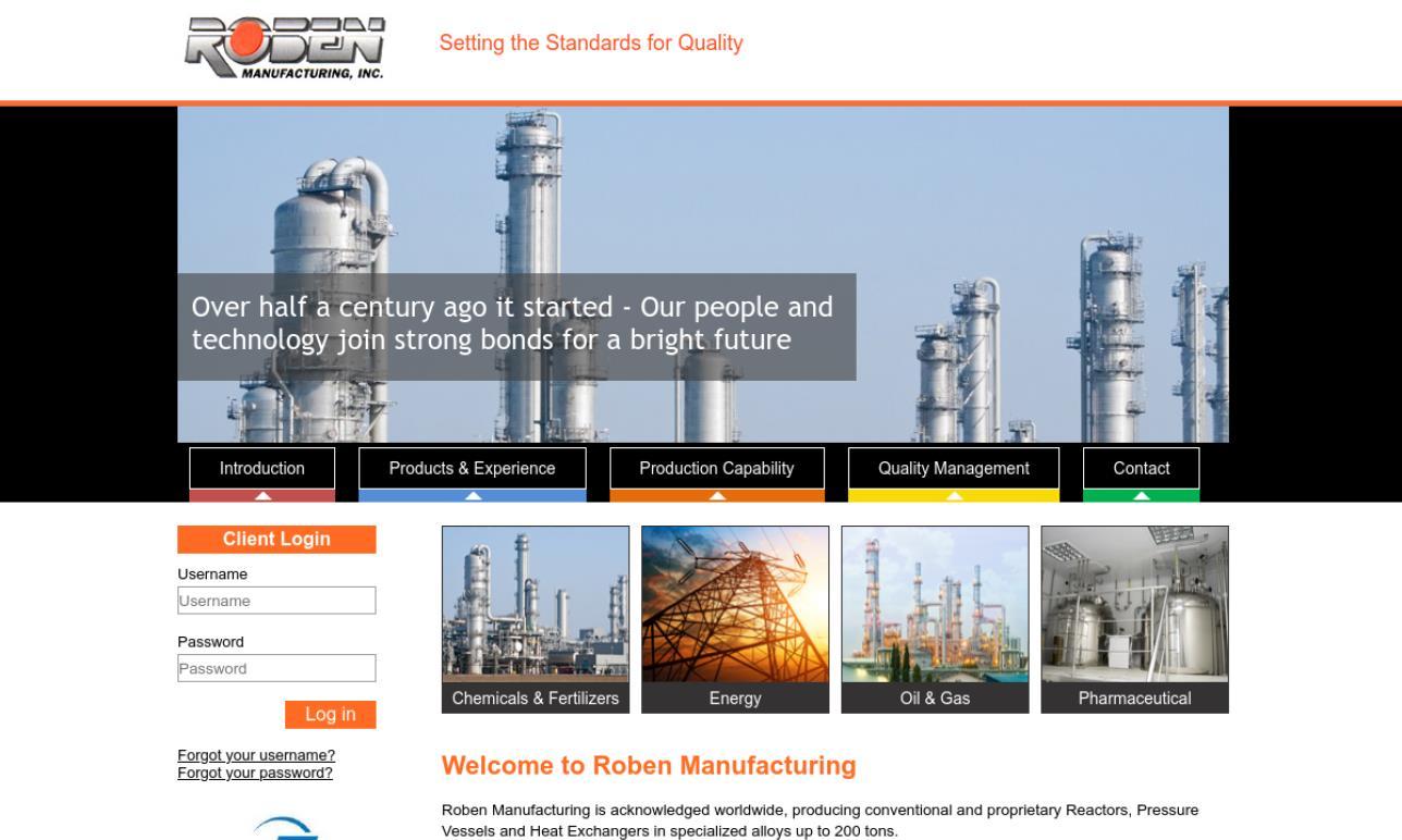 Roben Manufacturing, Inc.