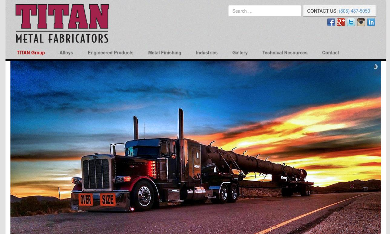 Titan Metal Fabricators Inc.