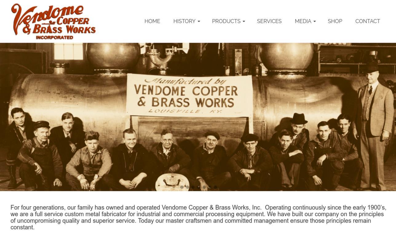 Vendome Copper & Brass Works, Inc