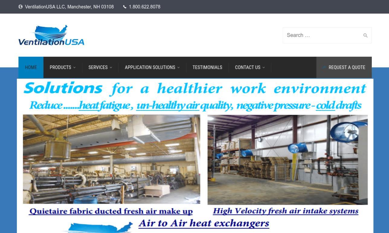 Ventilation USA LLC